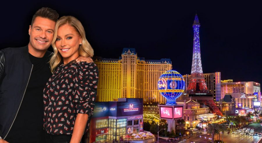 Where do celebrities stay in Las Vegas?