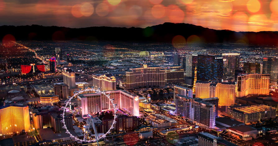 Is it safe to walk at night in Vegas?